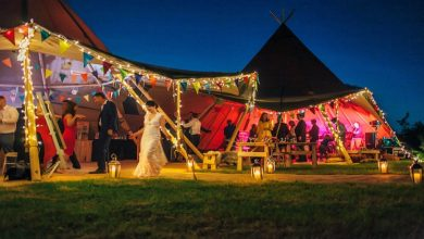 Photo of Can a giant tipi make a wedding even more special?