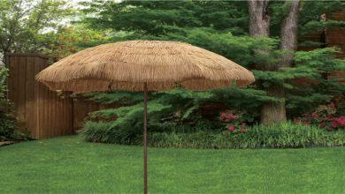 Photo of Patio Tiki Thatch Umbrellas