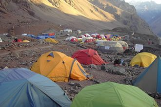 Photo of If you are going to come to Aconcagua, remember to be hydrated all the time