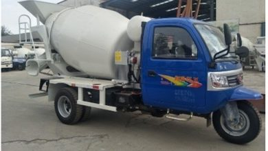 Photo of Types of Concrete Truck Mixers Used in Construction
