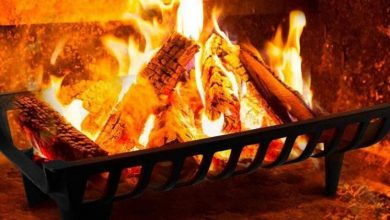 Photo of Choosing the best fireplace grate: factors to consider