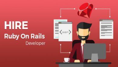 Photo of Ruby on Rails developer